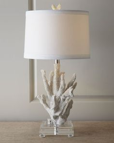 """Coral"" Lamp - Neiman Marcus I have these in red...there beautiful."