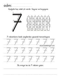 158 En Iyi 7 Rakamı çalışma örnekleri Görüntüsü 2019 Math