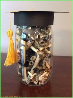 Graduation Gift İdeas - DIY Graduation Money Gift Graduation party for a family member today,. Graduation Gift İdeas – DIY Graduation Money Gift Graduation party for a family member today,… Graduation Party Centerpieces, Graduation Party Planning, High School Graduation Gifts, Graduation Presents, Graduation Decorations, Graduation Party Decor, Graduation Ideas, Grad Parties, Graduation Gift Baskets