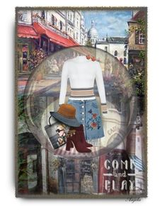 """Come and Play"" by anjelakewell ❤ liked on Polyvore featuring Miss Selfridge, New Look, Aquazzura and Callanan Millinery"