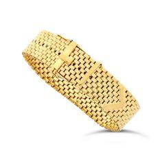 A Gold Buckle Bracelet – Lofty Marketplace