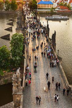 Charle's bridge, Prague