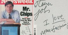 The Apple co-founder signed this 1988 issue of Newsweek and it's expected to go for over $10,000