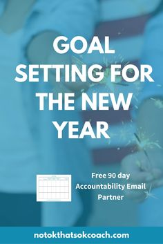 Ready to set goals and actually achieve them this year. Sign up for your free accountability partner  Click to sign up and pin for latr