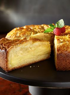French Custard Butter Cake                                                                                                                                                                                 More