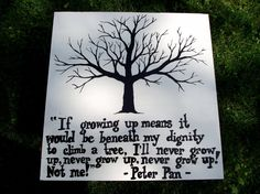 Love Peter Pan.