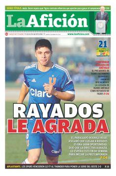 Portada La Afición Monterrey 22/05/14 | RAYADOS LE AGRADA