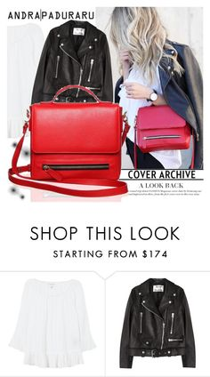 """Sophie handbags"" by gaby-mil ❤ liked on Polyvore featuring Velvet, Acne Studios, Leather, handbag and sophiehandbags"