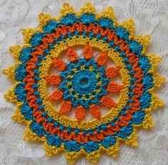 PDF Crochet Pattern- Mini Mandala Doilies different designs) - Reyna Rojas Martinez - PDF Crochet Pattern- Mini Mandala Doilies different designs) PDF Crochet Pattern Mini Mandala Doilies 12 different Crochet Car, Crochet Amigurumi, Thread Crochet, Crochet Gifts, Crochet Hooks, Free Crochet, Mini Mandala, Motif Mandala Crochet, Crochet Motifs