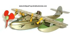 J. Chein China Clipper vintage tin wind toy.  Antique Toys And Automata  http://www.antiquetoysandautomata.com/