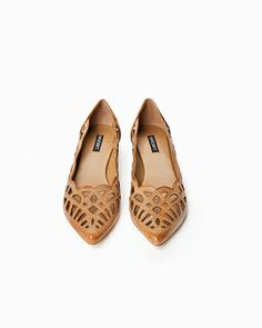 Charley - nude leather shoes