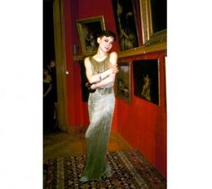 TINA CHOW, 1987 : THE AIDS CRISIS TRUST CHARITY AUCTION AT CHRISTIES LONDON…