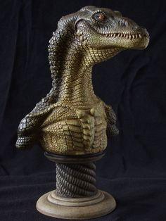 Aligator sculpt by revenant-99 on DeviantArt