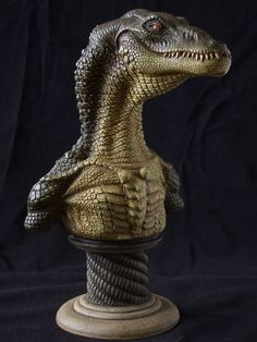 Aligator sculpt by revenant-99 on DeviantArt