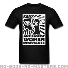 T-shirt ♂ Antifascist women resistance - Feminism & LGBTQ+
