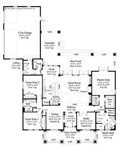 glenfield house plan farmhouse style homesmodern farmhouseluxury