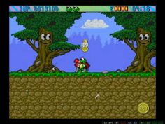 ▶ Let's Play Superfrog, cz 1 - Magic Woods (1-1, 1-2) - YouTube