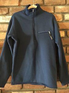 Vintage Patagonia Synchilla Men's Zip Front Blue Heavy Fleece Jacket Size M 90'S | eBay