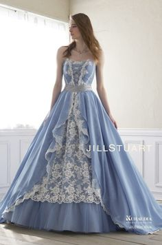 67 Ideas wedding dresses lace blue style for 2019 Beautiful Gowns, Beautiful Outfits, Ball Dresses, Ball Gowns, Dresses Dresses, Dresses Online, Pretty Outfits, Pretty Dresses, Blue Wedding Gowns