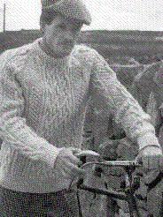Unisex Pullover Irish Knit - men and womens pullover aran sweater.