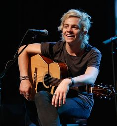 He's smile for me <3