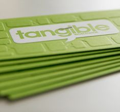 37.creative business cards with big typography
