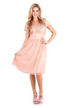 The Kiersten Modest Dress   NeeSee's Designs   Modest Vintage Dresses