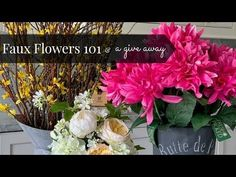 Faux Florals a No No or a Yes Yes...? - YouTube