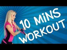 10 MINUTES WORKOUT: Celkově spalovací a tvarovací trénink na nohy a zadek - YouTube 10 Min Workout, Keto, Neon Signs, Youtube, 10 Minute Workout, Youtubers, Youtube Movies
