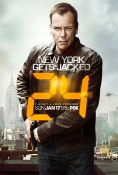 24 #tv show... this show made me age on each episode, it is sooo good!