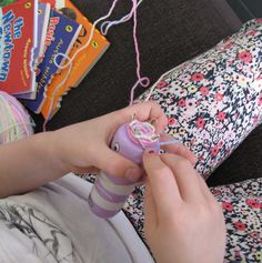 Threading My Way: French Knitting, Corking, Spool Knitting, Loom Knitting...