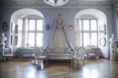 An elegant late 18th century interior
