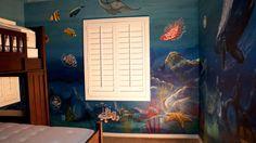 Under the ocean murals
