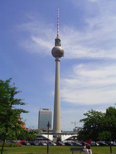 Berlin TV tower, Germany