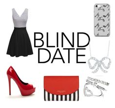 """""""blind date"""" by daphne-maijer ❤ liked on Polyvore featuring Henri Bendel, Roberto Coin and Music Notes"""