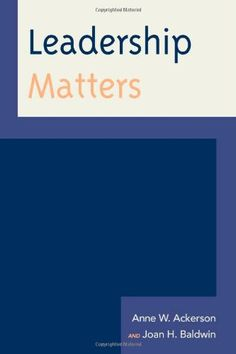 Leadership Matters (American Association for State and Local History) by Anne W. Ackerson http://www.amazon.com/dp/0759121842/ref=cm_sw_r_pi_dp_mQusub17EM1M2