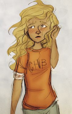 little Annabeth / the Girl that stabbed a cyclop in the feet