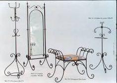 Resultado de imagen para modelos de sillas metalicas artesanales