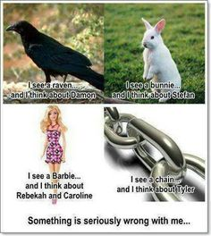 TVD PROBS<<It should be a crow nor a raven