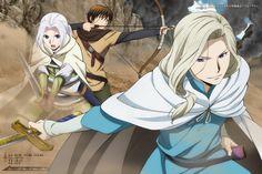 Look at them!! Elam is so adorable!! Heroic Legend of Arslan (Arslan Senki) - Arslan, Elam and Narasas