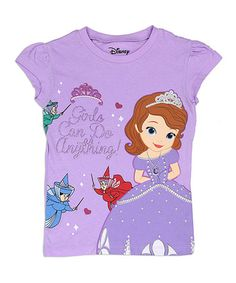 Loving this Lavender Sofia the First Tee - Toddler on  zulily!  zulilyfinds  Sofia 19effef41