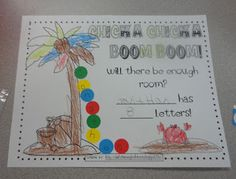 math worksheet : 1000 images about teaching chicka chicka boom boom unit on  : Chicka Chicka Boom Boom Worksheets For Kindergarten