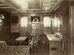 First Class on the Titanic. These Are Not Edited: Never-Before-Seen Historical Photos Epic Photos, Old Photos, Vintage Photos, Epic Pictures, Amazing Photos, Vintage Photographs, Titanic History, Rms Titanic, Titanic Photos