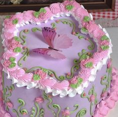 Pretty Birthday Cakes, Pretty Cakes, Cute Desserts, Delicious Desserts, Food Obsession, Just Cakes, Colorful Cakes, Cake Shop, Sweet Cakes