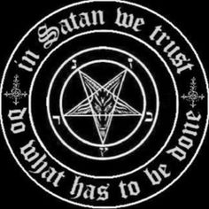 I am proud to be a Satanist.