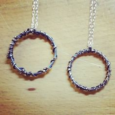 Sterling silver metal with liver of sulfur patina