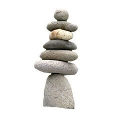 Ancient Graffiti Large 7-Stone Natural River Stone Cairn Price: $31.09 & FREE Shipping on orders over $49.