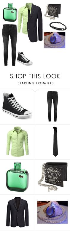 """""""party"""" by mnm13132 ❤ liked on Polyvore featuring Converse, Topman, Doublju, Versace, Alexander McQueen, Joseph, men's fashion and menswear"""