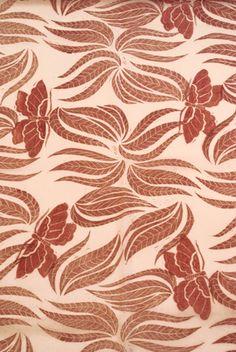 Papillons de nuit, Impression sur coton. Design Valérie Hangel