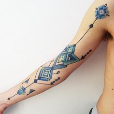 10+ Tattoos Inspired By Amazonian Tribal Art By Brazilian Artist Brian Gomes | Bored Panda